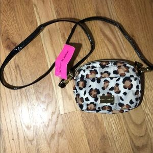Betsey Johnson Cheetah Crossbody Bag!!!